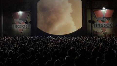 """Scene from """"1984""""."""