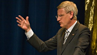 Carl Bildt, Swedish MFA. Photo by Per Dahl / Informationsföreningen. CC, FlickR (linked).