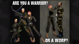 Are you a Warrior? Or a Wimp?