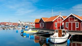 Idyllic image from Bohuslän, Sweden