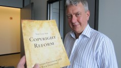 "The book ""The Case For Copyright Reform"" and Christian Engström"