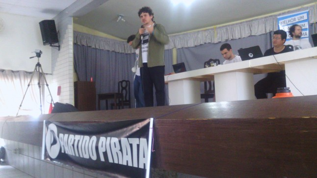 Founding convention of Partido Pirata do Brasil