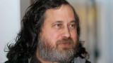 Dr. Richard Stallman. Photo by Gisle Hannemyr.