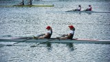Rowing race - teamwork