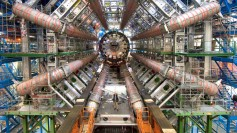 LHC&#039;s ATLAS detector, with Alpha Geek | Copyright Maximilien Brice, CERN
