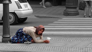 Beggar - CC photo by Flickr user jmennens