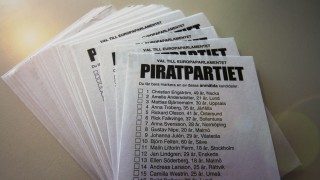 Ballots 2009 for the Swedish Pirate Party's election to the European Parliament