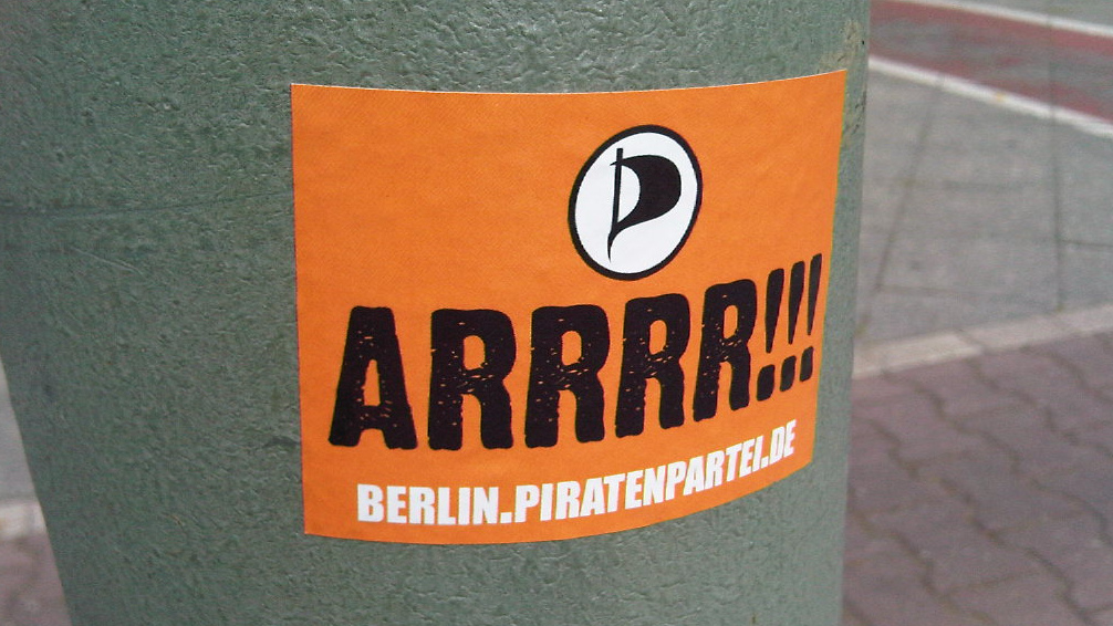 Piratenpartei Berlin - CC-BY-SA-NC by PaGn at Flickr