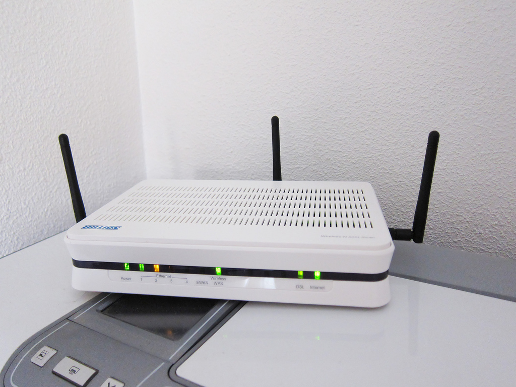 Wireless router. Photo by Keith Williamson, Flickr.