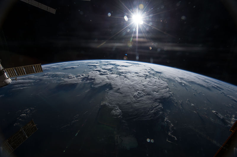 Earth view taken by US Astronaut Terry Virts, Flight Engineer for Expedition 42 on the International Space Station Jan. 30, 2015 by NASA/Terry Virts.