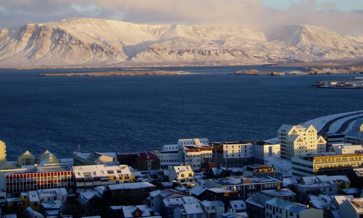 Reykjavik (photo from Wikimedia Commons)