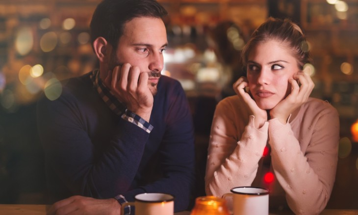 sad-couple-having-a-conflict-picture-id623298094