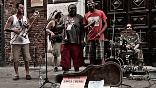 Buskers - CC image by blueroy on Flickr