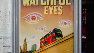 1984-ish poster from London's Public Transport