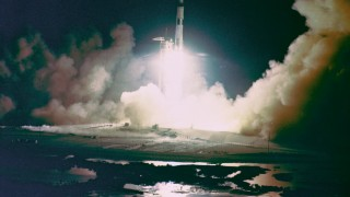 Apollo 17 Liftoff (courtesy NASA)